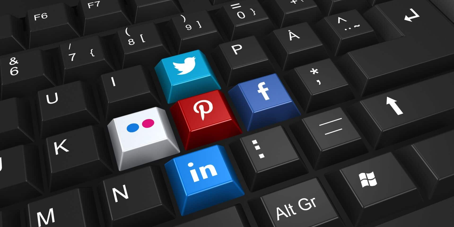 social media netwerken